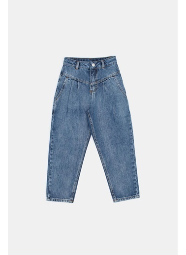 Tyess Kız Çocuk Jean Pantolon  Mavi